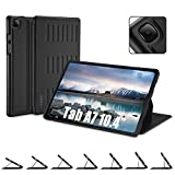 TSOMEI Samsung Galaxy Tab A7 10.4 2020 Case, Multiple Angle Magnetic Stand, Shockproof Drop Protection, Auto Wake/Sleep Cover for Galaxy Tab A7 10.4 Inch Tablet (SM-T500/ T505/ T507), Black