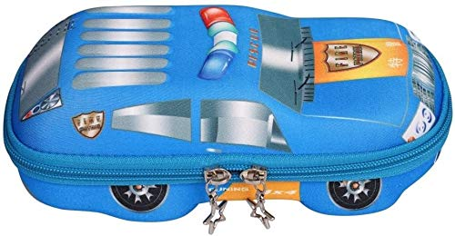 Bleistiftkoffer Bleistift Lager Bleistift Bagkids Jungen 3D Auto Stift Bleistiftkoffer Nette Reißverschluss Stift Tasche Beutel Studenten Schreibwaren Liefert Bleistift Box Halter Aufbewahrungstasche