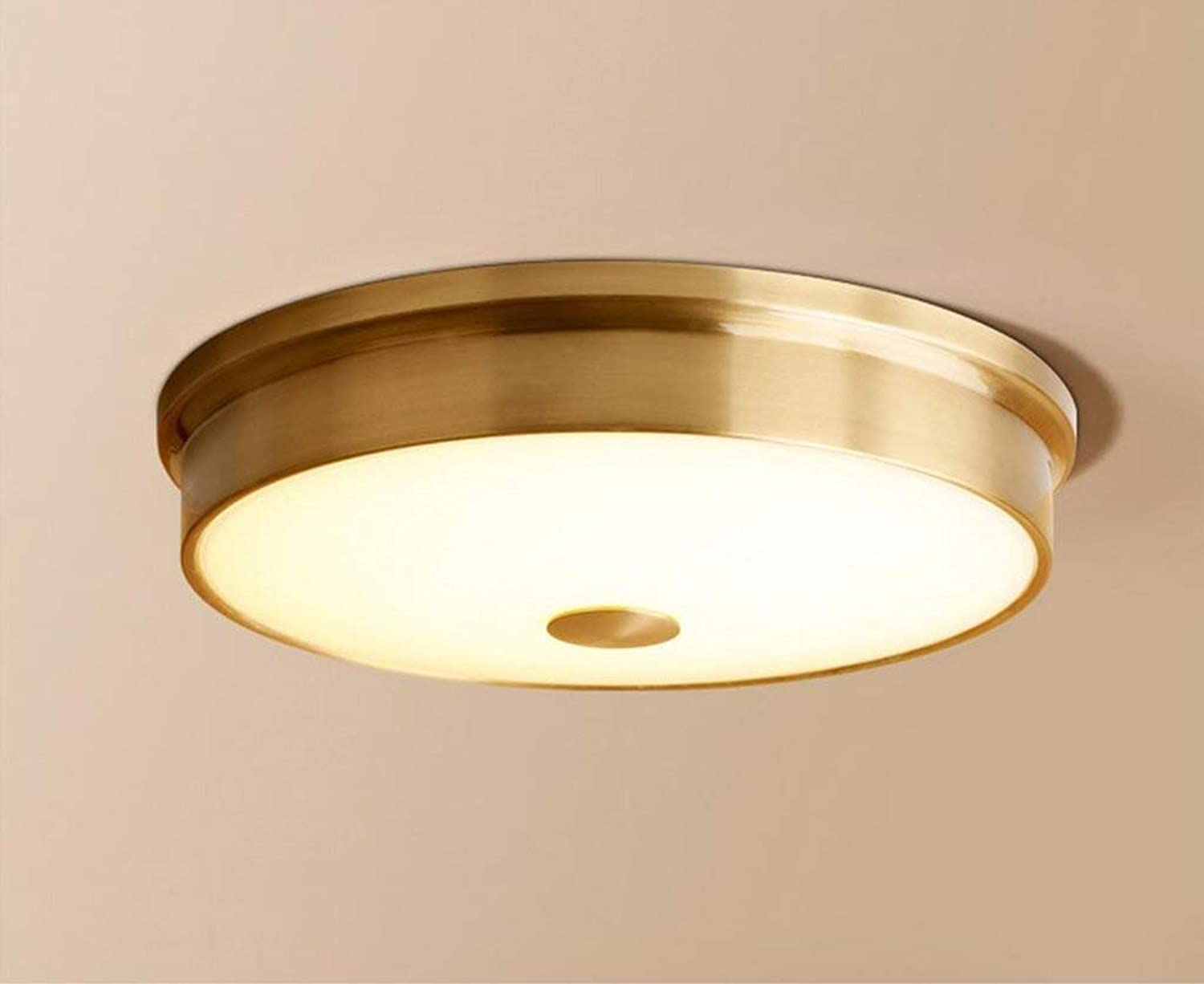 YANG Ceiling Light Copper Lamp Led Ceiling Lamp European Living Room Lights Bedroom Lights Corridor Lights Lamps