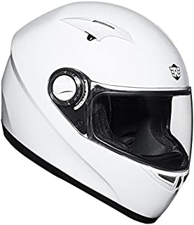 Royal Enfield White Full Face Helmet Size (L)60 CM (RRGHEC000008)