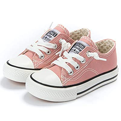 Weestep Canvas Sneaker (10, Light Coral)