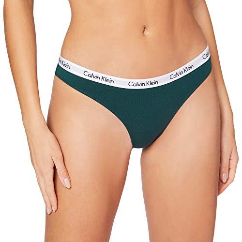 Calvin Klein Damen Bikini Bikinihose, Grün (IVY GATE IG7), (Herstellergröße: Small)