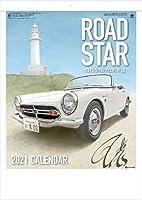 カレンダー 2021 壁掛け 車 ロードスター 往年の名車イラスト集 クラシックカー 2021年 令和3年 壁掛けカレンダー