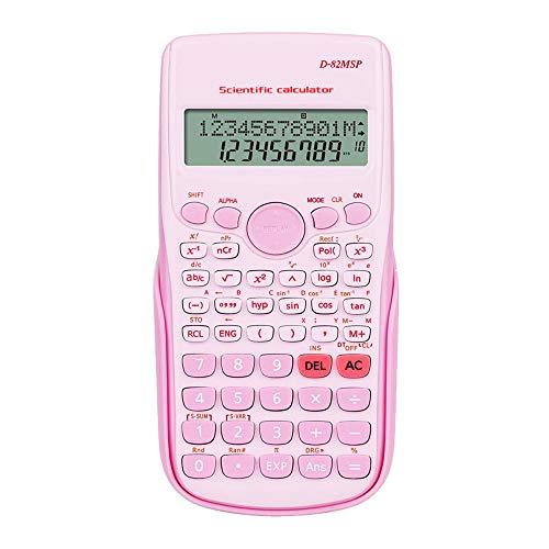 XBAO Wetenschappelijke rekenmachine, rekenmachine, hulp voor studenten/eenvoudig te bedienen, uitstekende kwaliteit, 240 rekenfuncties, rekenmachine