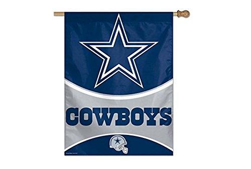 Bandeira Vertical 70x100 Logo Team Dallas Cowboys