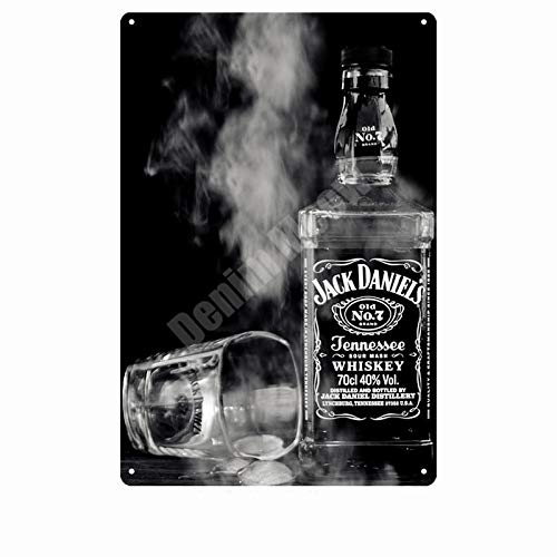 ZYZRYP Vintage Metal tin Sign bar Pub Home Decoration Beer Advertising Board Painting Poster Wall Art Sticker 20x30cm D