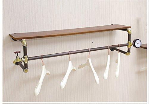 Popa Porte Manteau Design sur Pied Mur Monté Cintre Salle de Bain Serviette Rack Forme de Vintage Crochets patère Porte Manteau