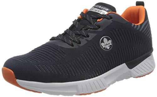 Rieker Herren B9820 Sneaker, blau,43 EU