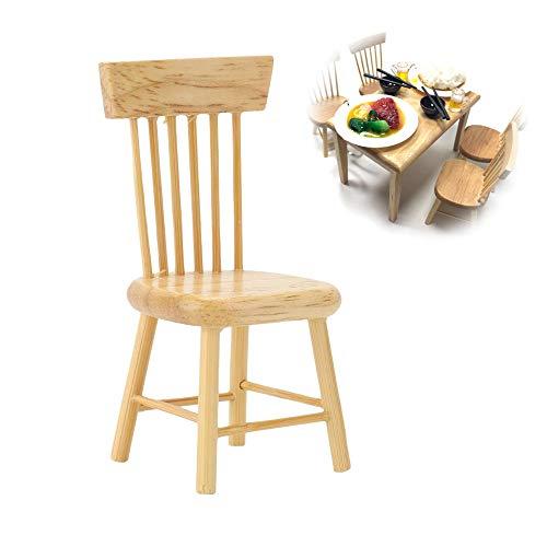 【 】 Muebles de casa de muñecas, Modelo de Muebles en Miniatura...