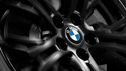 BMW Tapón central fijo original de 56 mm para llanta de aleación de 112 mm 36122455268