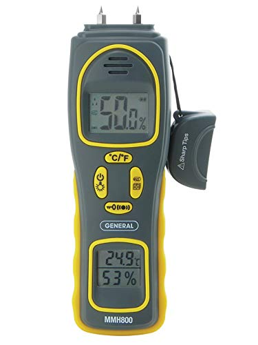 General Tools MMH800 Most Professional Inspector Moisture Meter
