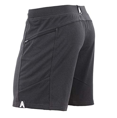 Anthem Athletics Hyperflex 7' Workout Training Gym Shorts - Volcanic Black G2 - Medium