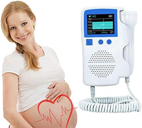 Pregnant Fetal Doppler Baby Heartbeat Monitor Pocket Handheld Pregnancy Doppler Fetal product image