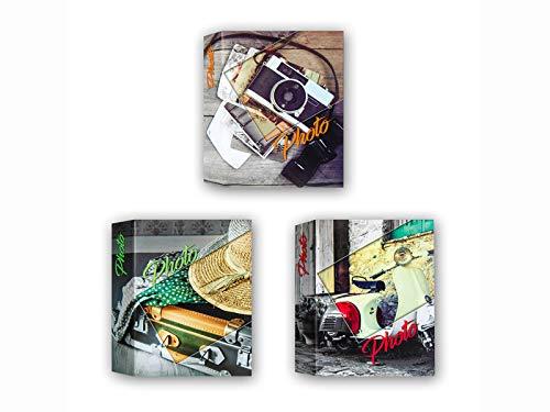 Zep - Álbum de fotos para 100 fotos, 13 x 19 cm, 13 x 18 cm, 1 unidad