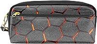 筆箱 文具 ボックス おしゃれ3Dアイランドトロピカルアイランドボートビーチコースト 筆入れ ぺんバッグ 耐久性 色鉛筆ケース 収納