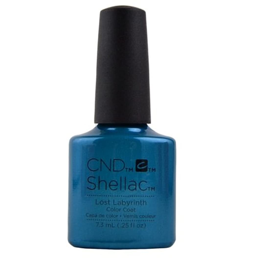 困惑エリート開いたCND Shellac Gel Polish - Lost Labyrinth - 0.25oz / 7.3ml