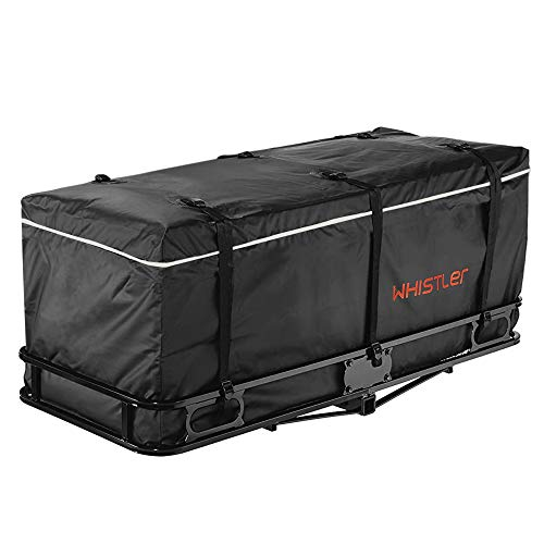 "Whistler Hitch Bag - 100% Waterproof Large Hitch Tray Cargo Carrier Bag 59"" x 24"" x 24"" (20 Cu Ft) + Storage Bag"