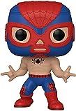 Funko- Pop Marvel Luchadores Spider-Man Juguete coleccionable, Multicolor (53862)