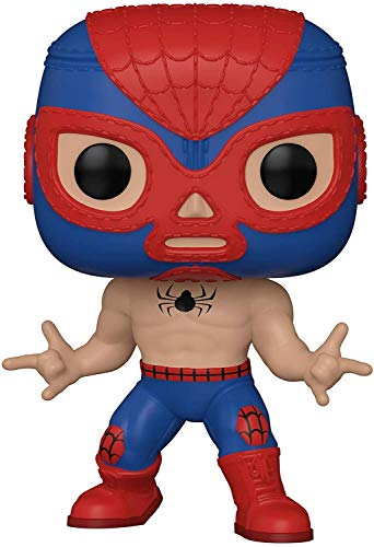 Funko POP Marvel: Luchadores-Spider-Man Giocatollo, Multicolore, 53862