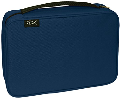 Divinity Boutique Bible Cover Basic Navy, XXL (21451)