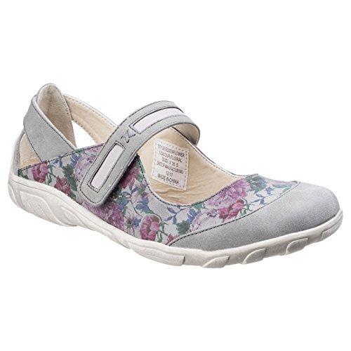 Fleet & Foster - Zapatos Deportivos Elderflower Mary Jane con Estampado Floral para Mujer señora