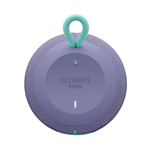 UEWONDERBOOMSuper Portable Waterproof Bluetooth Speaker (Lilac)