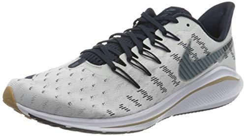 Nike Air Zoom Vomero 14, Running Shoe Hombre, Photon Dust/Ozone Blue-Obsidian-White, 48.5 EU