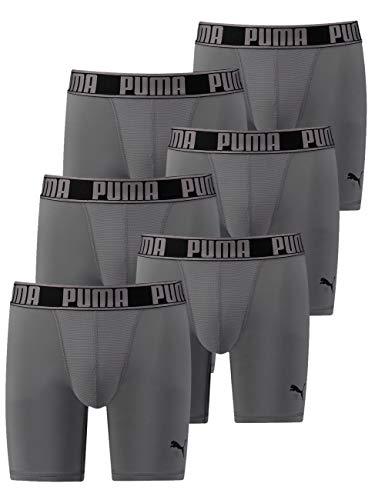 Puma Active Long functionele boxershort voor heren, in 6-delige voordeelverpakking