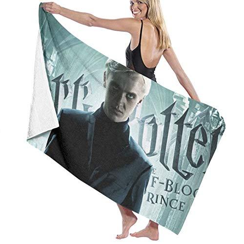 Harry Potter - Toalla de baño de microfibra de varios colores para playa, deportes, toalla de cara, personalizable, tamaño 70 x 140 cm