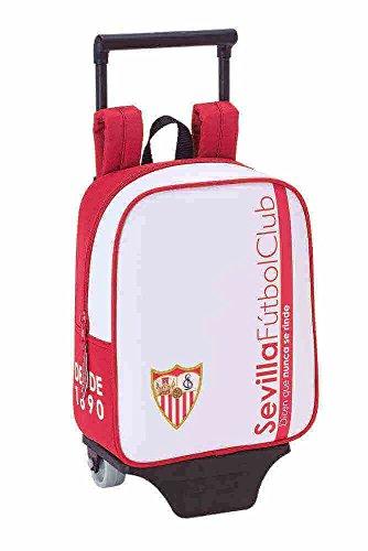 Safta Mochila Sevilla F.C. Oficial Guardería Con Carro Safta 220x100x270mm