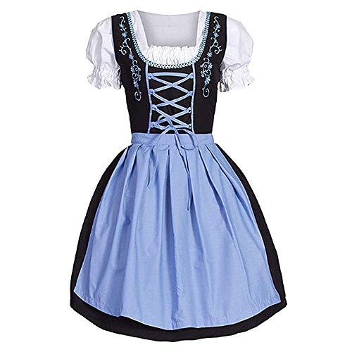 TONGJI Oktoberfest-Karnevalskostüme, traditionelle bayerische Beergirl Maid Apron-Kostüme für deutsche Bier-Themenveranstaltungen