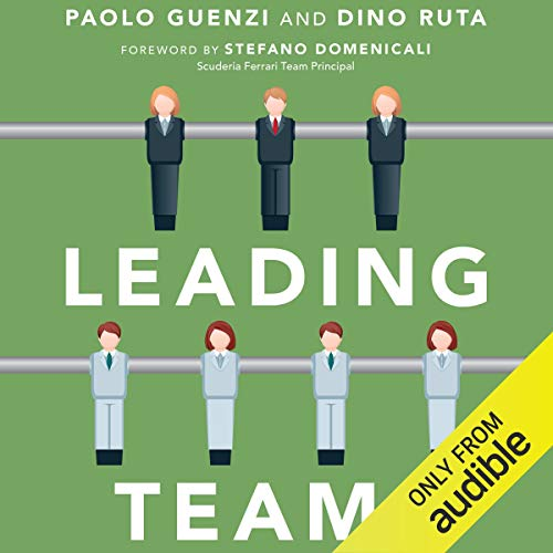 Leading Teams audiobook cover art