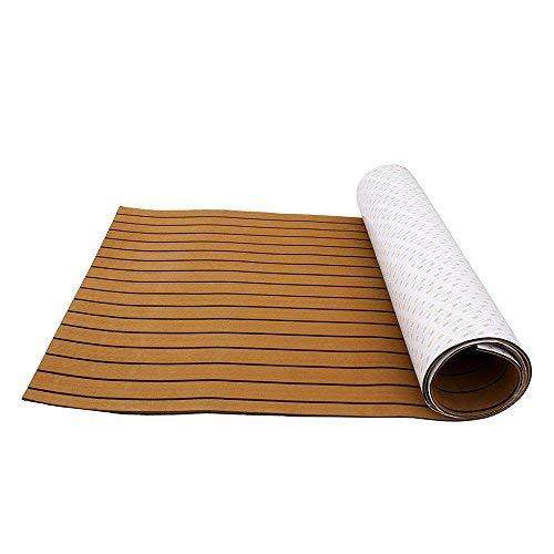 Eva schuim teak vloerbedekking vloer teak zelfklevend mat voor jacht boot en camper 240 * 90 * 60 cm