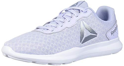 Reebok Women's Dart TR Running Shoe, Lilac/White/Washed Indigo, 5 M US
