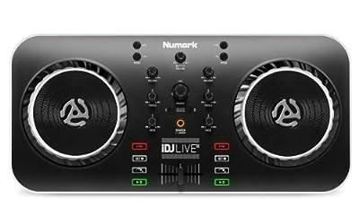 Numark iDJ Live II DJ Controller for Mac, PC, iPad, or iPhone