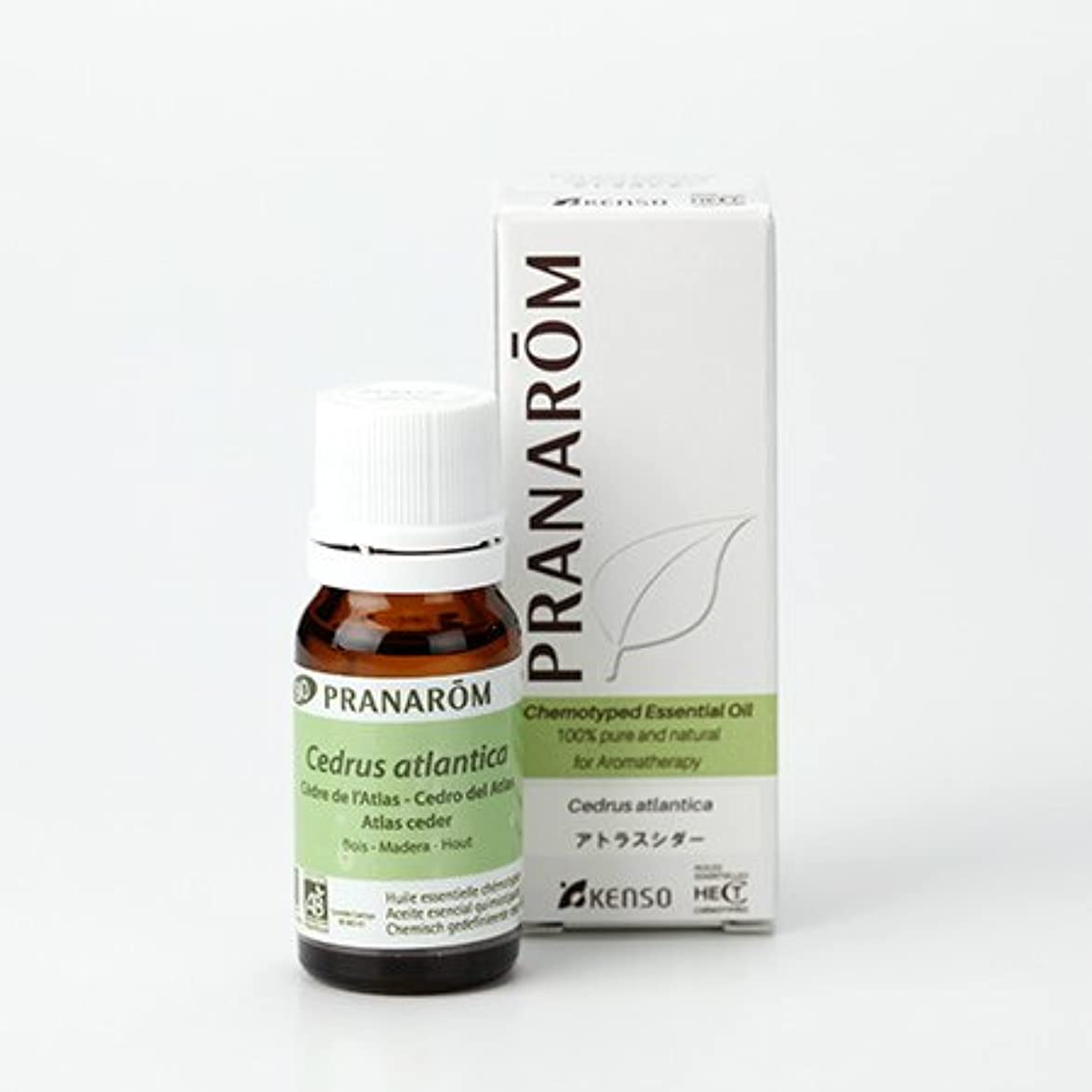 想定する動物園社交的プラナロム アトラスシダー 10ml (PRANAROM ケモタイプ精油)