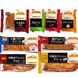 敷島製パン Pasco(パスコ) 8種詰め合わせセット×(2ケース)