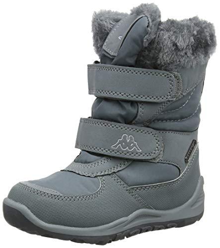 Kappa Gurli Tex Kids, Botines Niñas, Grey/Silver 1615, 40 EU