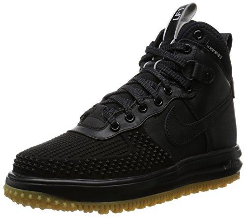 Nike Air Lunar Force 1 Sneakerboot GS Watershield Winter Sneaker Black, EU Shoe Size:EUR 37.5