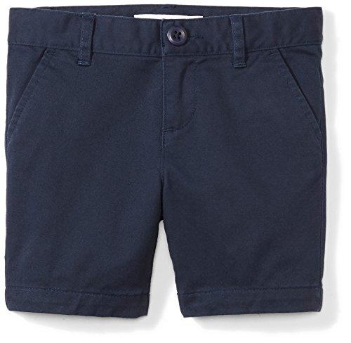 Amazon Essentials Big Girls' Uniform Short, Navy Blazer,12