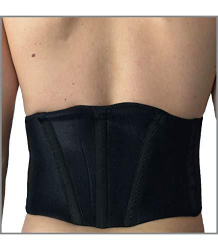 Support dorsal doublure titane