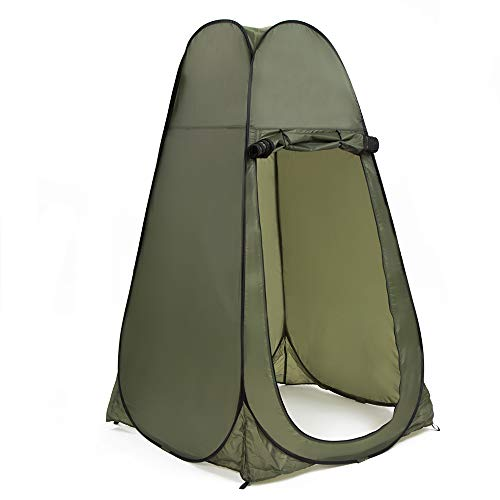 Cheapest Price! Kids Play Tunnels Outdoor Portable Pop-up Shower Dress Moveable Toilet Tent Pop Up T...