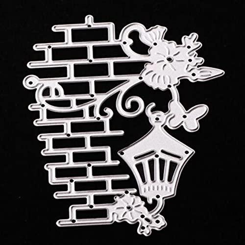 Wall Lamp Cutting Dies Cut Metal Scrapbooking Stencils Die for DIY Embossing Photo Album Decorative DIY Paper Cards Making Craft