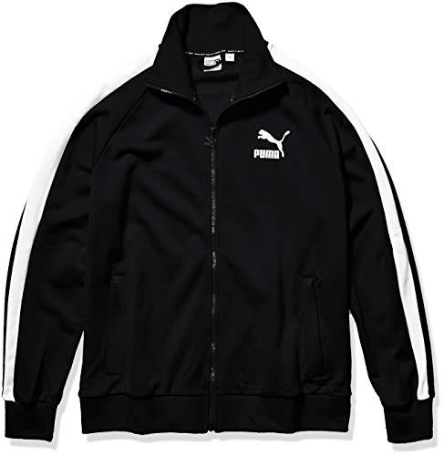 PUMA Men's Iconic T7 Track Jacket, Black, L
