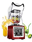 WantJoin Professional Soundproof Quiet Blender, Commercial Smoothie Blenders Countertop Blender with Shield Sound Enclosure,Multifunctional,Speed Control,Self-Cleaning