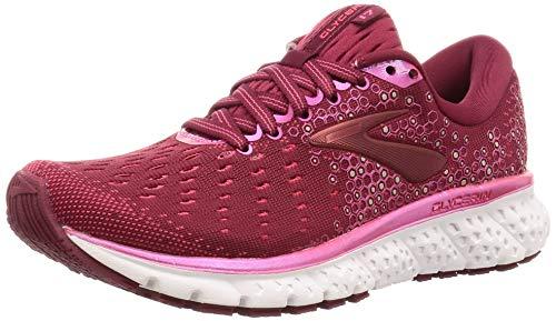 Brooks Glycerin 17, Zapatillas de Running Mujer, Rojo (Rumba Red/Rteaberry/Gold 694), 37.5 EU