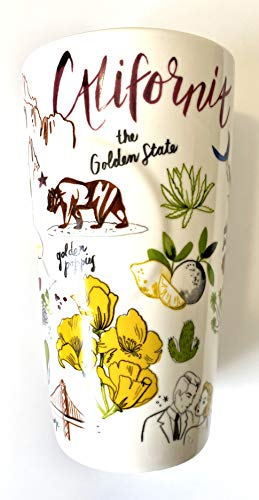 Starbucks California Double Walled Ceramic Travel Traveler Coffee Mug - 12 Oz