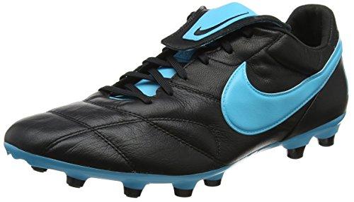 Nike Męskie buty piłkarskie The Premier Ii Fg, czarny - Czarny Black Gamma Blue Black - 44 EU