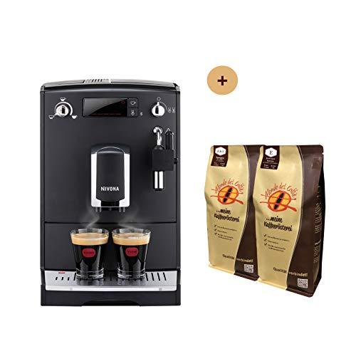 Nivona CafeRomatica NICR 520 Bundle mit 2* 1 kg Kaffee von Mondo del Caffè