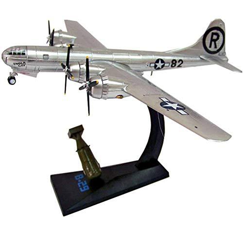 CMO Aeromodelismo, Bombardero B-29 Superfortress USAF Modelo De Aleación Escala 1/72, Juguetes y Regalos para Adultos, 8,3 X 11,8 Pulgadas
